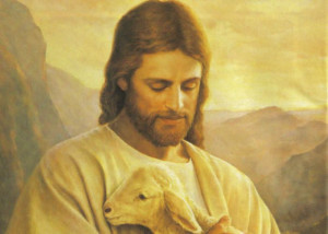 Jesus Christ the Good Shepherd This is how I like to picture Jesus