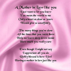 Sweet Mother In Law Quotes. QuotesGram