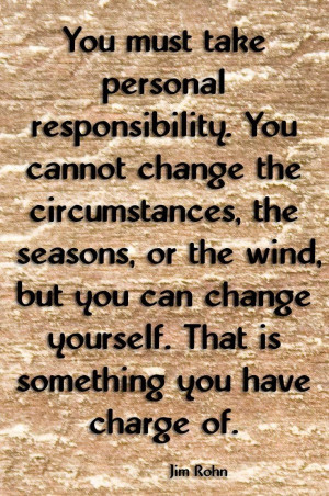 personal responsibility quotes quotations