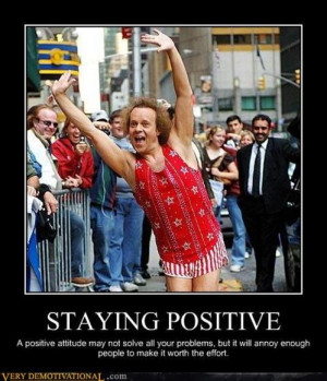 how to stay positive when unemployed