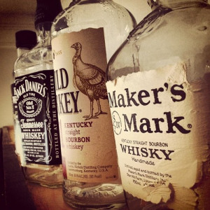 alcohol whiskey jack daniels whisky bourbon wild turkey makers mark