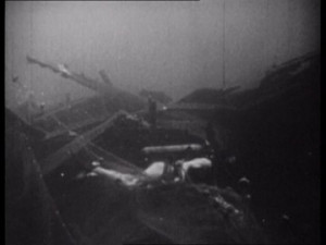 Jacques-Yves Cousteau, Bullauge, Forscher, Schiffswrack, Luftblase ...