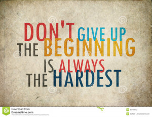 Old grunge vintage dont give up quote photo frame background. Suitable ...