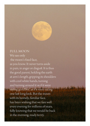 Full Moon Poems Full moon poems full moon