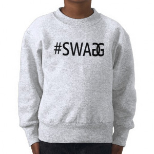 SWAG / SWAGG Funny Trendy Quotes, Cool Girl's Tee from Zazzle.com