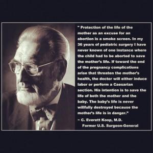 quote by former U.S. Surgeon-General C. Everett Koop