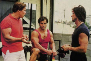 arnold, franco and sylvester