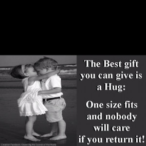 Cute kids and good quote
