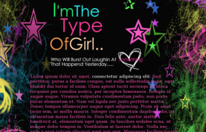 Im The Type Of Girlfriend Quotes I'm the type of girl theme