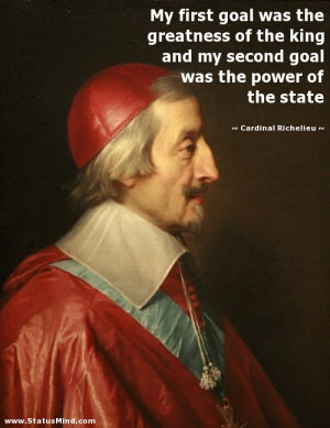 The accomplishments of cardinal richelieu during his lifetime