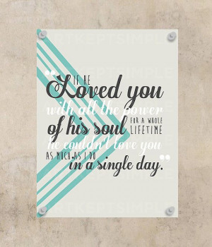 INSTANT DOWNLOAD Wuthering Heights Love Quote Poster