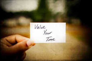 Wasted time: Value your time