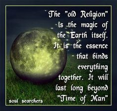 Pagan ways and sayings