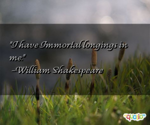 Immortal Quotes