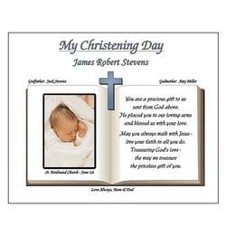 ... > Gift Ideas > Personalized Baptism / Christening Prayer Poem Print