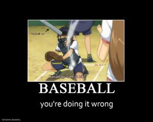 Campione: Baseball Epic Fail by gamera68