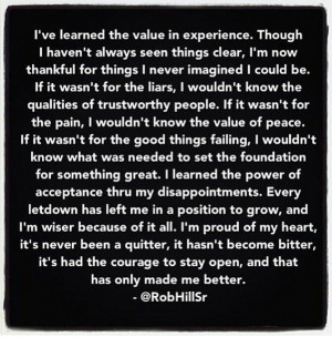 Rob hill sr quote | WoRDS To iNSPiRE(: