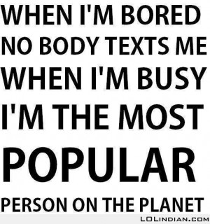 when i am bored