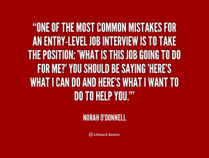 job interview quotes source http quotes lifehack org quote norah ...