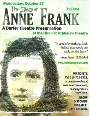 October 27, 2010, The Diary of Anne Frank