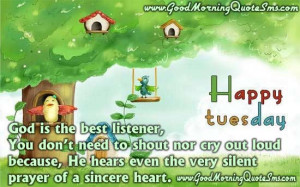 Tuesday Good Morning Message - Happy Tuesday Quotes, Wishes, SMS ...