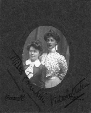 Miles Franklin and Vida Goldstein SLV
