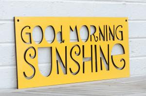 Good Morning Sunshine Winner 02/06
