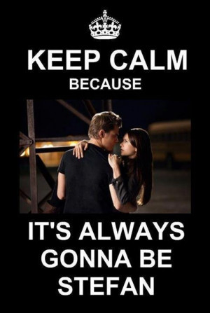 Stelena #TVD Finale proved this RIGHT! :)