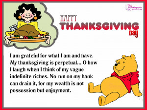 Happy Thanksgiving Day Card With Quote For Kids Thanksgiving Wishes