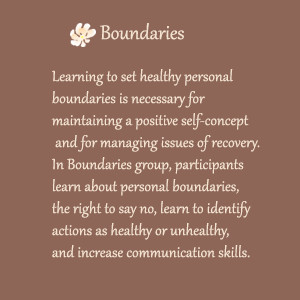 Boundaries: Learning to set healthy personal boundaries is necessary ...