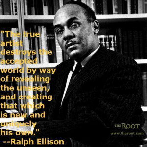 the life of ralph waldo ellison an american writer A bibliography of ellison's published writings by bernard benoit and michel fabre, in studies in black literature, autumn 1971 the blinking eye: ellison and his american, french, german and italian critics 1952-1971 by jacqueline covo, 1974 even in invisible man, which is a densely complex and.