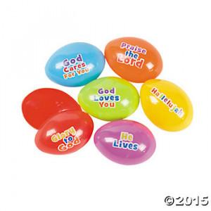 Bible Sayings Easter Eggs