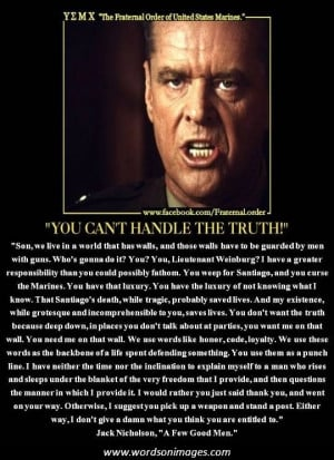 few good men quotes