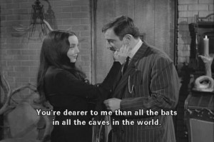 From morticia and gomez on tumblr