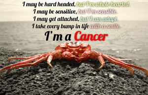 Cancer Horoscope Quotes Is cancer over sensitive under
