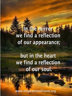 Mirror Reflection Quotes Quotes about self reflection
