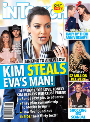 But while Kim has remained silent on those topics, she felt a need to ...