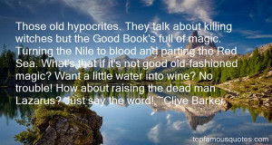 Top Quotes About Parting The Red Sea