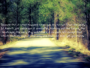Scenery With Quotes