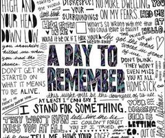 Day to Remember Quotes