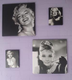 Audrey Hepburn And Marilyn Monroe Quotes Marilyn monroe en audrey