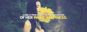 Girls Inner Happiness Quote Picture