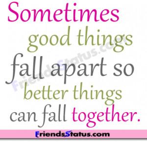 good things fb life quotes status