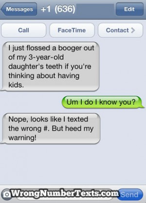 Texts Gone Wrong Credited