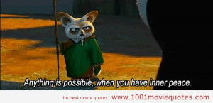 Kung Fu Panda (2008) - movie quote