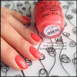 OPI Brazil: Complete Spring 2014 Brazil by OPI Collection Swatches ...