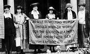 all the women associated with women s rights then and now