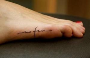 no fear tattoo no fear tattoo tatto no pé tattoos tattoo designs ...
