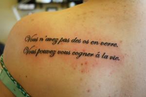 Quote Tattoos Designs...