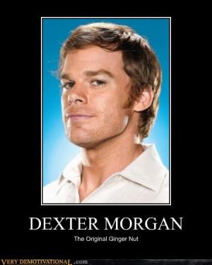 Dexter Morgan! Gotta love him #Dexter #ginger